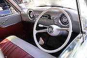 Interior, Vauxhall car.<br /> 2011 Classic Car Show, Whiteman Park, Perth, Western Australia. March 20, 2011