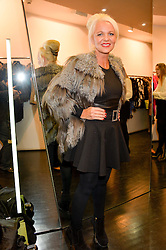 AMANDA ELIASCH at a preview of the Hockley Autumn -Winter 2013/2014 Collection at Hockley, 20 Conduit Street, London on 26th November 2013.