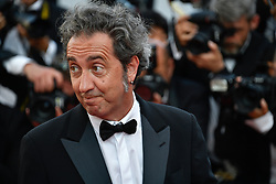 Paolo Sorrentino arriving for the 70th Cannes Film Festival closing ceremony on May 28, 2017 in Cannes, France. Photo by Julien Zannoni/APS-Medias/ABACAPRESS.COM