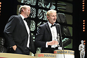 ISPS Handa Team of the Decade Award winners Hamish Bond and Eric Murray, ISPS Handa Halberg Awards Decade Champion held at Spark Arena, Auckland. Wednesday 24 March 2021. Mandatory Photo Credit: Andrew Cornaga / www.photosport.nz