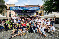 Workers's photo after the 5th Stage of 26th Tour of Slovenia 2019 cycling race between Trebnje and Novo mesto (167,5 km), on June 23, 2019 in Slovenia. Photo by Vid Ponikvar / Sportida
