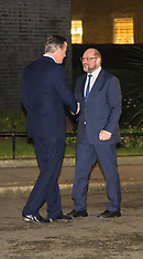 2016-02-04 Cameron meets EU Parliament President Martin Schulz at Downing Street