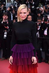 """71st Cannes Film Festival 2018, Red Carpet film """"Blackkklansman"""". Pictured: Cate Blanchett"""