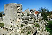 Roman ruins, Nin, Croatia