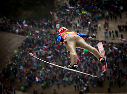 Lauri Asikainen (FIN) during Ski Flying Hill Men's Team Competition at Day 3 of FIS Ski Jumping World Cup Final 2017, on March 25, 2017 in Planica, Slovenia. Photo by Vid Ponikvar / Sportida