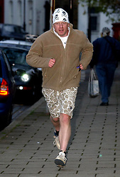 File photo dated 15/11/04 of Boris Johnson just after he was sacked as the shadow arts minister of the Conservative party. Mr Johnson has been elected by Conservative party members as the new party leader, and will become the next Prime Minister of the United Kingdom.