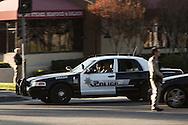 Shooting in San Bernardino.<br /> San Bernardino PD begin a chase to engage the shooters on San Bernardino Ave.