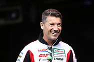 Luccio Ceccinello team manager LCR Honda Idemitsu during the Day of Champions charity auction at the Go Pro British MotoGP at Silverstone, Towcester, United Kingdom on 22 August 2019.