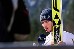 March 23, 2019 - Planica, Slovenia - Robert Kranjec of Slovenia during his last jump of the career  at Planica FIS Ski Jumping World Cup finals  on March 23, 2019 in Planica, Slovenia. (Credit Image: © Rok Rakun/Pacific Press via ZUMA Wire)