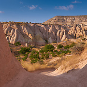 Gardens of the Red Valley in Cappadocia