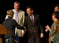 Laconia Academy Graduation ceremony at Laconia High School Friday, June 1, 2012.  (Karen Bobotas/for the Laconia Daily Sun)