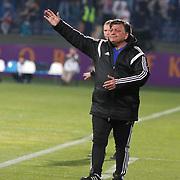 Kardemir Karabukspor's coach Yilmaz Vural during their Turkish superleague soccer match Besiktas between Kardemir Karabukspor at Osmanli Stadium in Ankara Turkey on Monday 27 April 2015. Photo by Kurtulus YILMAZ/TURKPIX