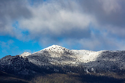 Snow on the Great Western Tiers, northern Tasmania.