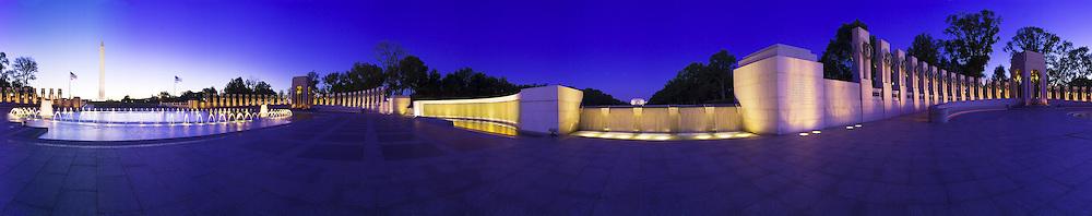 WW2 memorial in Washington DC