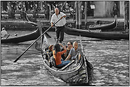 Day Tripper - Venice -  is a selective colour street photography series of tourists visiting Venice  by photographer Paul Williams taken on 26th September 2007.