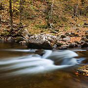Upper Tremont Creek Cascades - Great Smoky Mountains - Autumn