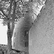 Tower Of London Exterior Canon - London - Black & White