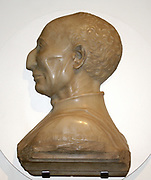 Bernardo Giugni c. 1464-8 Mino da Fiesole (1429-84), Marble.  Florence, Italy. This bust is virtually identical to that on Giugni's tomb in the Badia, Florence, but it is not clear why it was made.  The format, showing Bernardo's strong profile, evoked Roman rulers and complemented the classical nature of the tomb.  Giugni was a diplomat, a knight and an important public figure in Florence.