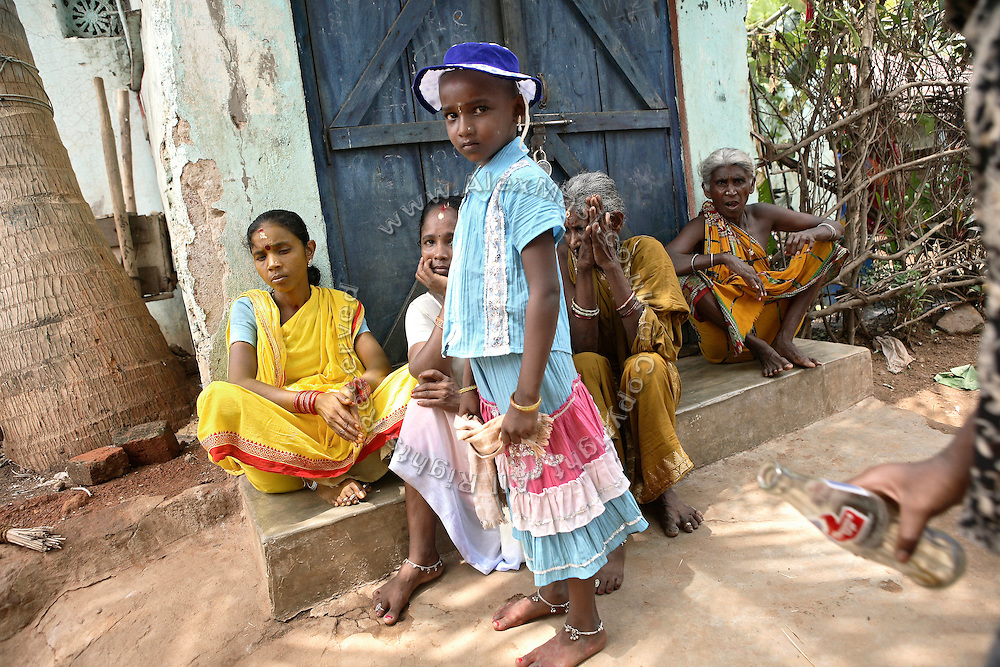 Residents of Salia Sahi slum (pop. 30.000) of Bhubaneswar, the capital of Orissa State, are photographed on Friday, May 16, 2008. On May 1, 2006. **Italy and China Out**