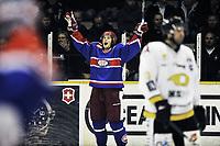 29. september 2009, Ishockey, Get-Ligaen, Stavanger Oilers - Vålerenga , Siddishallen , Vålerenga jubel ,  Foto: Tommy Ellingsen