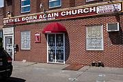 Bethel Born Again Church, an apostolic church at 1110 East 34th St, on the corner of Flatbush Avenue, Brooklyn.