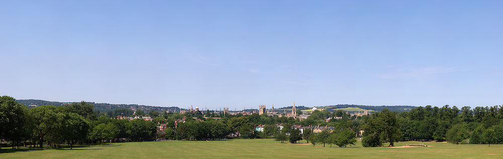 view of Oxford from South Park