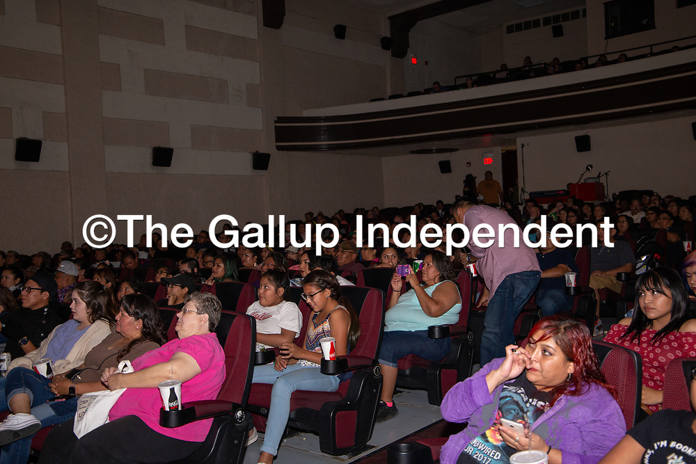 The El Morro Theatre reached capacity Saturday night for the True Colors Drag Show for the end of the Gallup PRIDEfest.