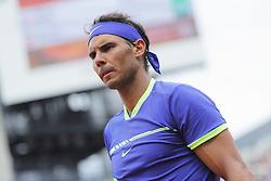 May 29, 2017 - Paris, Ile de France, France - Rafael Nadal (ESP), tension (Credit Image: © Panoramic via ZUMA Press)