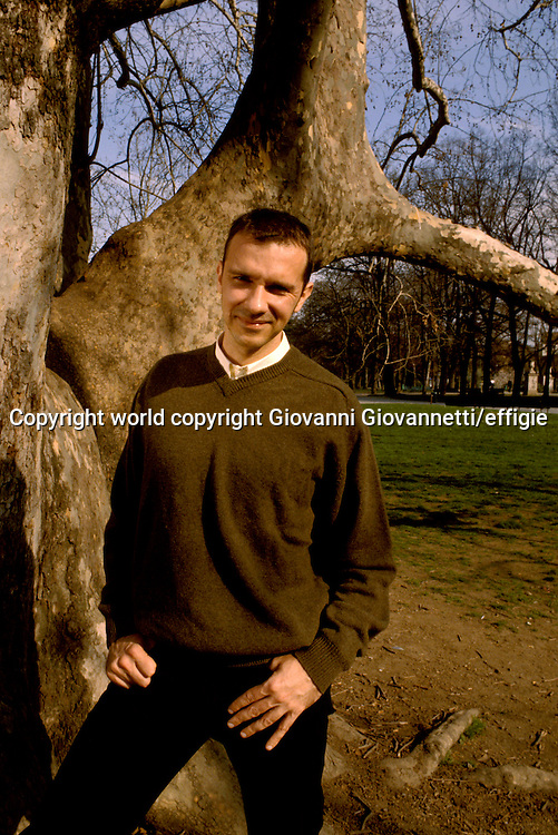 Franck Thilliez<br />world copyright Giovanni Giovannetti/effigie / Writer Pictures<br /> <br /> NO ITALY, NO AGENCY SALES / Writer Pictures<br /> <br /> NO ITALY, NO AGENCY SALES