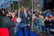 Koning Willem Alexander is woensdag 15 november 2017 aanwezig bij een feestelijke bijeenkomst ter ge