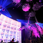 Lusine performs in the EMP Sky Church at the the 2011 Bumbershoot Festival in Seattle