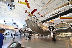 10.01.2016, Steven F. Udvar-Hazy, Chantilly, USA, National Air and Space Museum, im Bild Boeing 307 Stratoliner Clipper Flying Cloud // Exhibits of the American National Air and Space Museum at the Steven F. Udvar-Hazy in Chantilly, United States on 2016/01/10. EXPA Pictures © 2016, PhotoCredit: EXPA/ Eibner-Pressefoto/ Hundt<br /> <br /> *****ATTENTION - OUT of GER*****