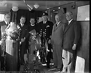 Reception on Board Lily of Cork, 26th May, 1961, Irish Navy