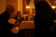 "Audience at the restaurant ""Marques da Se"", one of the main Fado venues in Lisbon located in Alfama typical neighborhood"
