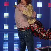 NLD/Hilversum/20070316 - 2e Live uitzending SBS So You Wannabe a Popstar, Victor Brand en Nelleke van der Krogt