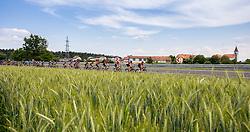Peloton during 1st Stage of 27th Tour of Slovenia 2021 cycling race between Ptuj and Rogaska Slatina (151,5 km), on June 9, 2021 in Sports park Kranj, Kranj, Slovenia. Photo by Vid Ponikvar / Sportida