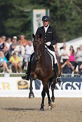 Van Der Meer Patrick (NED) - Don Diego<br /> FEI World Dressage Championships for Young Horses<br /> Internationales Dressur- und Springfestival - Verden 2014<br /> © Dirk Caremans