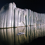 I photographed this iceberg in midnight sun in Avanersuaq district of polar Greenland 860 miles from the North Pole.