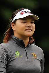 May 26, 2018 - Ann Arbor, Michigan, United States - Wichanee Meechai of Bangkok, Thailand walks off the 6th green after making her putt during the third round of the LPGA Volvik Championship at Travis Pointe Country Club, Ann Arbor, MI, USA Saturday, May 26, 2018. (Credit Image: © Amy Lemus/NurPhoto via ZUMA Press)