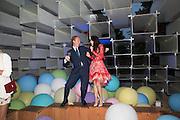 NATHAN CLEMENTS-GILLESPIE; LEILA MALEKI, 2016 SERPENTINE SUMMER FUNDRAISER PARTY CO-HOSTED BY TOMMY HILFIGER. Serpentine Pavilion, Designed by Bjarke Ingels (BIG), Kensington Gardens. London. 6 July 2016