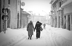 Emergenza Neve in Basilicata feb. 2012 - Work in Progress