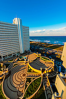 View from the Dan Panorama Hotel, Tel Aviv, Israel.