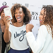 NLD/Amsterdam/20160908 - Talkies Lifestyle lunch 2016, Jasmine Sendar, Glennis Grace, Edsilia Rombley