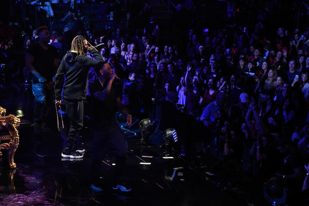 Photos of Fetty Wap performing live at iHeartRadio Jingle Ball 2015, hosted by Z100 New York at Madison Square Garden, NYC on December 11, 2015. © Matthew Eisman/ iHeartRadio. All Rights Reserved