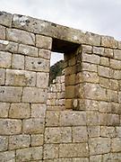 The Incan ruins of Machu Picchu, near Aguas Calientes, Peru.