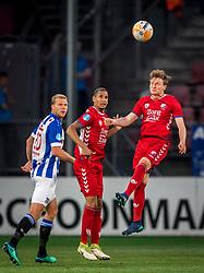 12-05-2018 NED: FC Utrecht - Heerenveen, Utrecht<br /> FC Utrecht win second match play off with 2-1 against Heerenveen and goes to the final play off / (L-R) Henk Veerman #20 of SC Heerenveen, Ramon Leeuwin #3 of FC Utrecht, Rico Strieder #6 of FC Utrecht