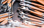 Image of wrenches to work on hot rod racecars at the Bonneville Salt Flats, Utah, American Southwest by Randy Wells
