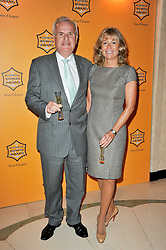 LORD & LADY MYNERS at the 38th Veuve Clicquot Business Woman Award held at Claridge's, Brook Street, London W1 on 28th March 2011.