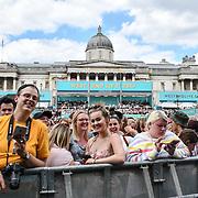 West End Live 2019 in Trafalgar Square, on 22 June 2019, London, UK.