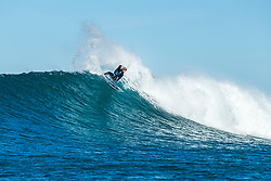 Wade Carmichael (AUS) advances to the Quarterfinals of the 2018 Corona Open J-Bay after placing second in Heat 2 of Round 4 at Supertubes, Jeffreys Bay, South Africa.
